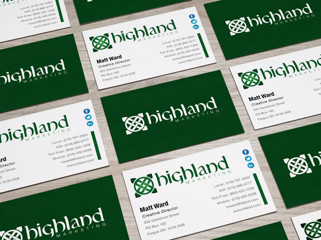 Highland Marketing Identity